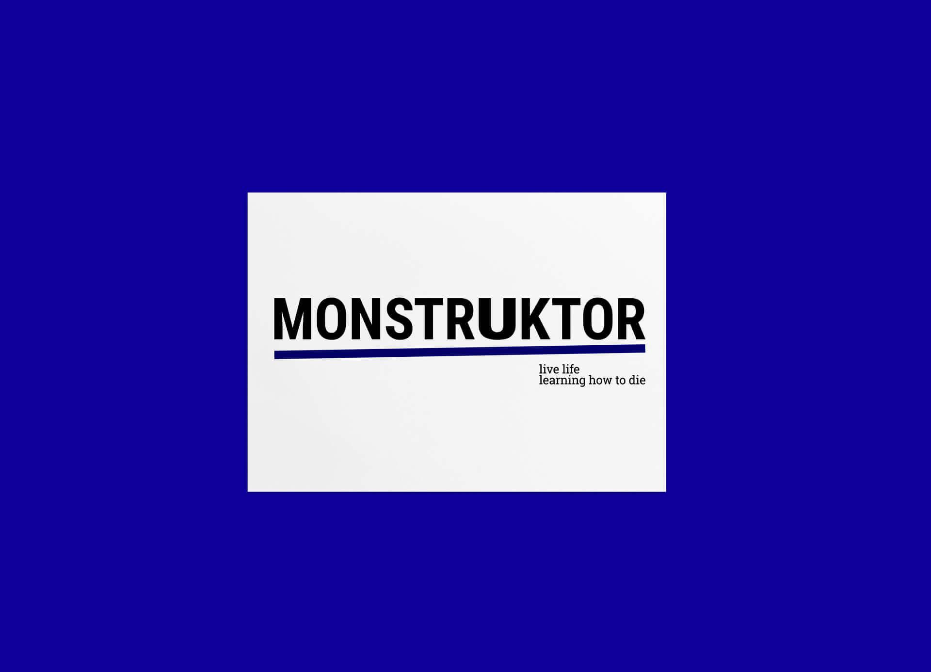 MONSTRUKTOR, o autor